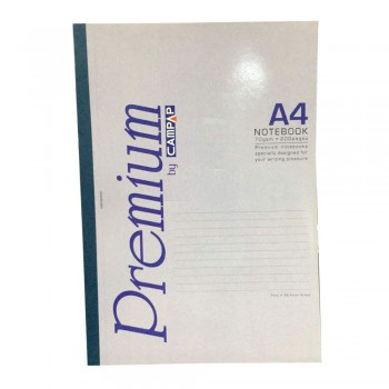 Campap A4 Premium Notebook 200 pages CA3580