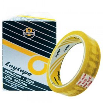 Loytape Cellulose Tape - 24mm x 40m