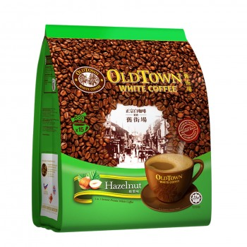 OLDTOWN White Coffee 3-in-1 Hazelnut Instant Premix (38g x 15s)