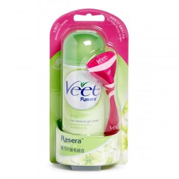 Veet Rasera Hair Removal Gel Cream Dry Skin 145ML