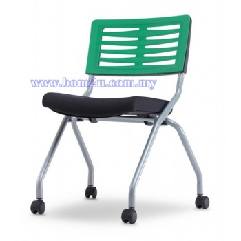 AXIS 2 Series Foldable Training Chair With Castor (P.P. Shell)