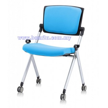 AXIS Series Foldable Training Chair With Castor