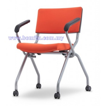 AXIS 2 Series Foldable Training Chair With Castor & Armrest