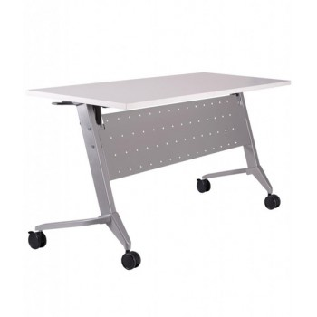 AXIS Series Foldable Conference/Training Table With Twin Wheel Castor