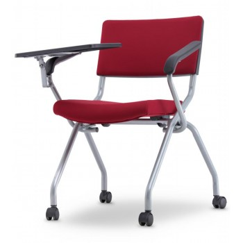 AXIS 2 Series Foldable Training Chair With Castor, Armrest & Writing Tablet