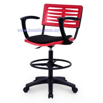 AXIS 3 Series Drafting Chair With Armrest (P.P. Shell)