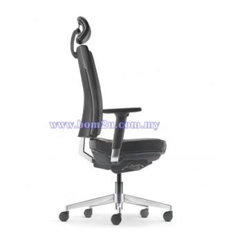 CLOVER Series Presidential Chair (Aluminium Base)