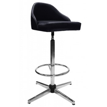 BOM-807(H) High Bar Stool With Backrest