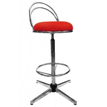 BOM-804(H) High Bar Stool With Backrest