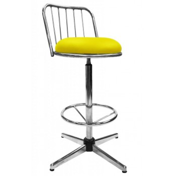 BOM-802(H) High Bar Stool With Backrest