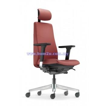 HUGO Series Presidential Chair (Aluminium Base)