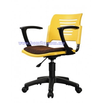 P2 Series Student Chair With Armrest & Roller Base
