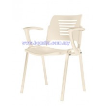 P2 Series Student Chair With Armrest (Ivory Series)