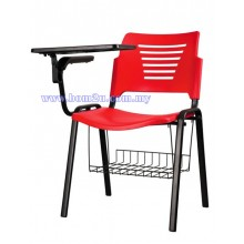 P2 Series Student Chair With Writing Tablet & Basket
