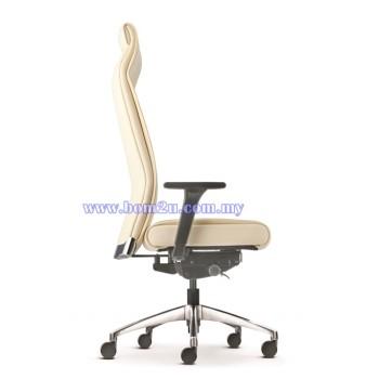 PEGASO Series Presidential Chair (Aluminium Base)