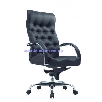 SANCTUARY Series Presidential Chair (Chrome Series)