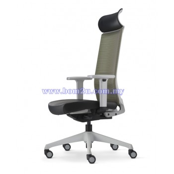 SURFACE Series Executive Chair (Grey Series)