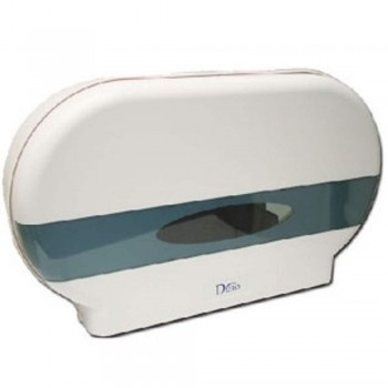 DURO Double Jumbo Roll Tisue Dispenser 9007-W (Item No: F13-69)