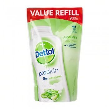 Dettol Shower Gel Aloe Vera 900ml Value Refill Pouch