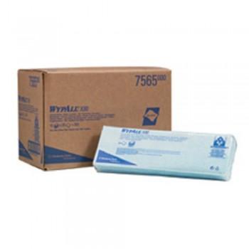 Scott Wypall X80 Colour Coded Wiper - Blue x 25 sheets- Hydroknit