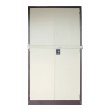 Full Height Swing Door Steel Cupboard With Locking Bar