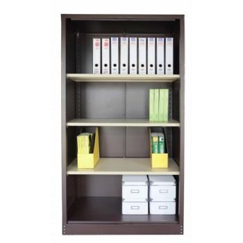 Full Height Open Shelf Steel Cupboard