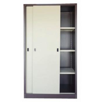 Full Height Sliding Door Steel Cupboard