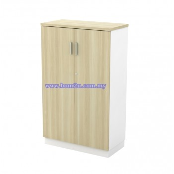 B-YD 13 Melamine Woodgrain 3 Levels Swing Door Medium Cabinet With Lock