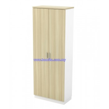 B-YD 21 Melamine Woodgrain 5 Levels Swing Door High Cabinet With Lock
