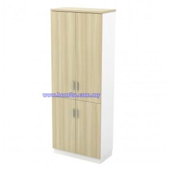 B-YTD 21 Melamine Woodgrain 5 Levels Swinging Door High Cabinet With Lock