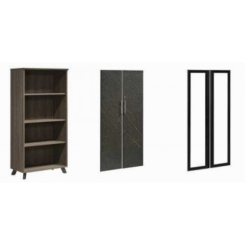 PX9 Series 4 Levels Wood High Cabinet