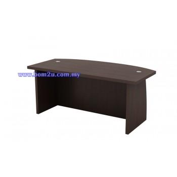 QX-Series Fully Woodgrain Director Table (Top 41THK)