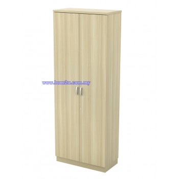 Q-YD 21 Fully Woodgrain 5 Levels Swing Door High Cabinet With Lock