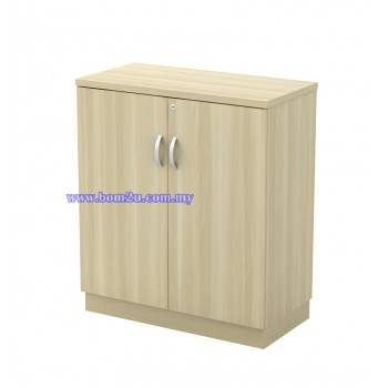 Q-YD 9 Fully Woodgrain Swing Door Low Cabinet With Lock