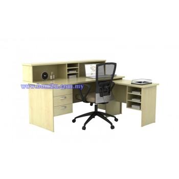 EX Series Fully Woodgrain Reception Counter Set