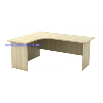 EXL 1515/1815 Fully Woodgrain L-shape Superior Compact Table
