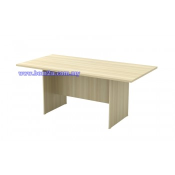 EX Series Fully Woodgrain Rectangular Shape Conference Table