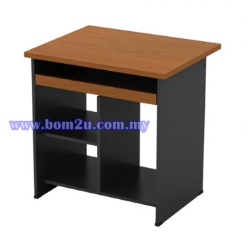 GC 1000 Melamine Woodgrain Computer Table