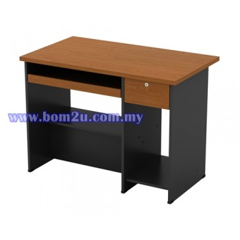 GC 2000 Melamine Woodgrain Computer Table