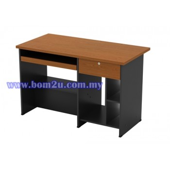 GC 3000 Melamine Woodgrain Computer Table