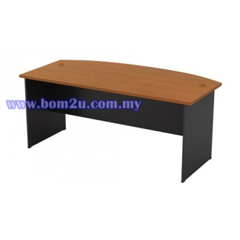GMB-180A D-Shape Executive Writing Table