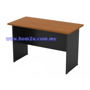 GT-126 Melamine Woodgrain Standard Writing Table (w/o telephone cap)