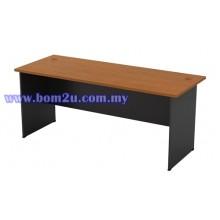 G-Series Melamine Woodgrain Standard Writing Table