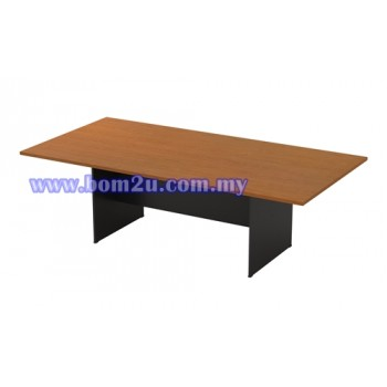 G-Series Melamine Woodgrain Rectangular/Oval Shape Conference Table