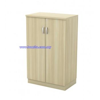 Q-OD 712/912 Fully Woodgrain 3 Levels Swing Door Medium Cabinet