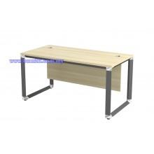 O-Series Melamine Woodgrain Standard Writing Table