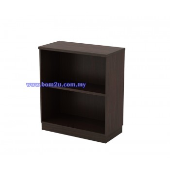 Q-YO 9 Fully Woodgrain Open Shelf Low Cabinet