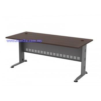 Q-Series Melamine Woodgrain Standard Writing Table
