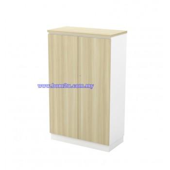 B-YD 13(E) Melamine Woodgrain 3 Levels Swing Door Medium Cabinet With Lock