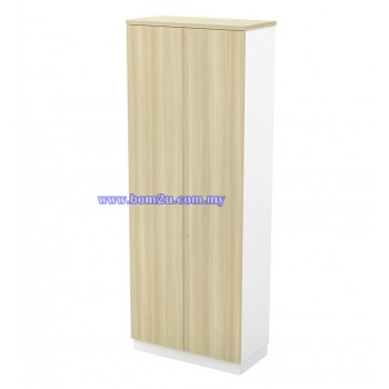 B-YD 21(E) Melamine Woodgrain 5 Levels Swing Door High Cabinet With Lock